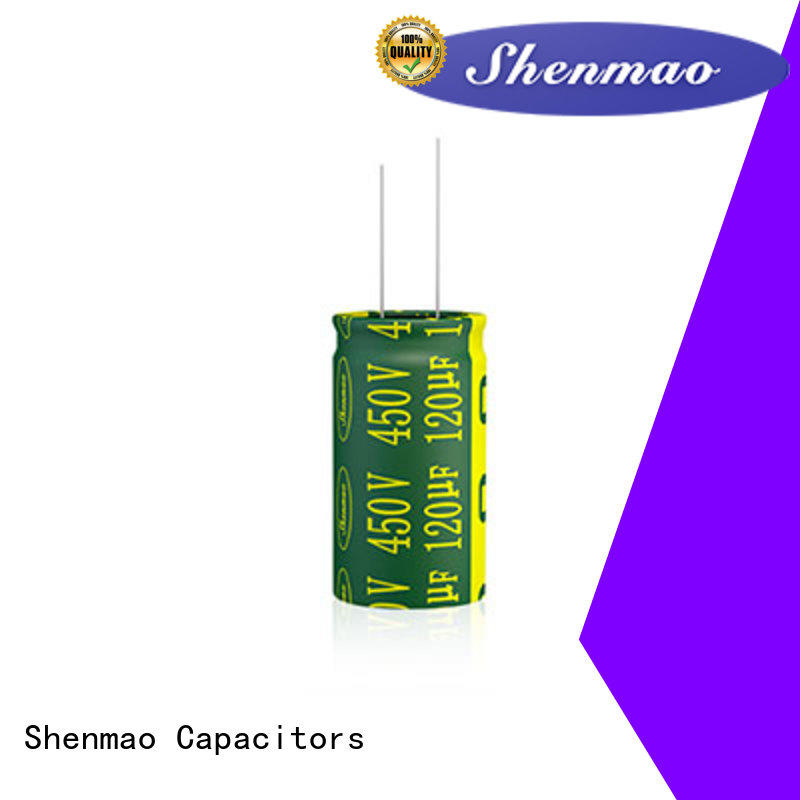 Shenmao Radial Aluminum Electrolytic Capacitor marketing for temperature compensation