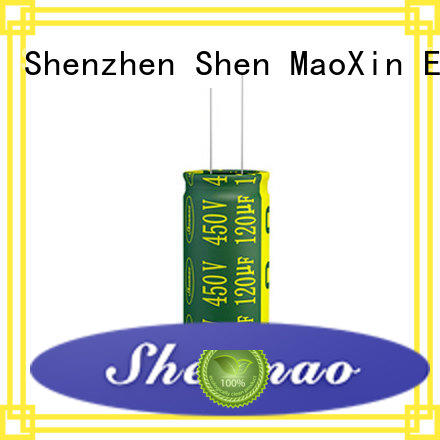 Shenmao radial type capacitor bulk production for temperature compensation