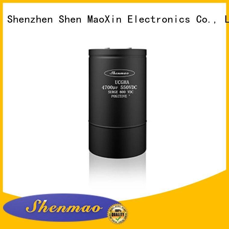 Shenmao screw terminal capacitor vendor for DC blocking