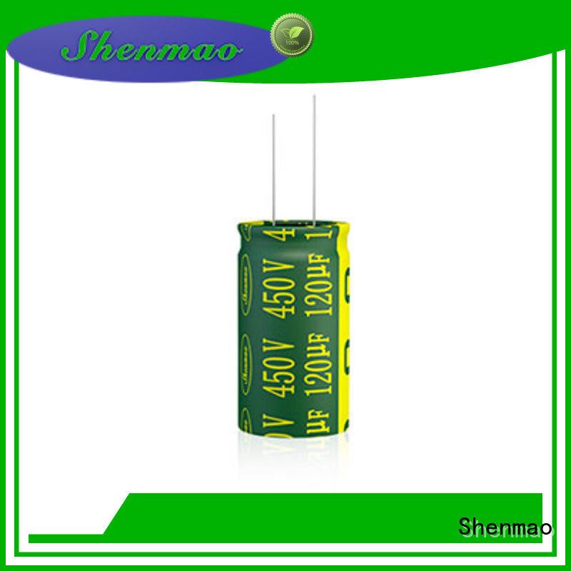 Shenmao radial capacitor marketing for filter