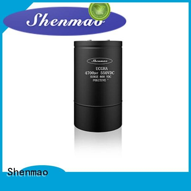 Shenmao screw terminal capacitor owner for tuning