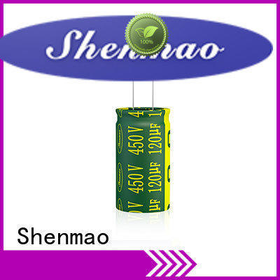Shenmao radial electrolytic capacitor supplier for tuning