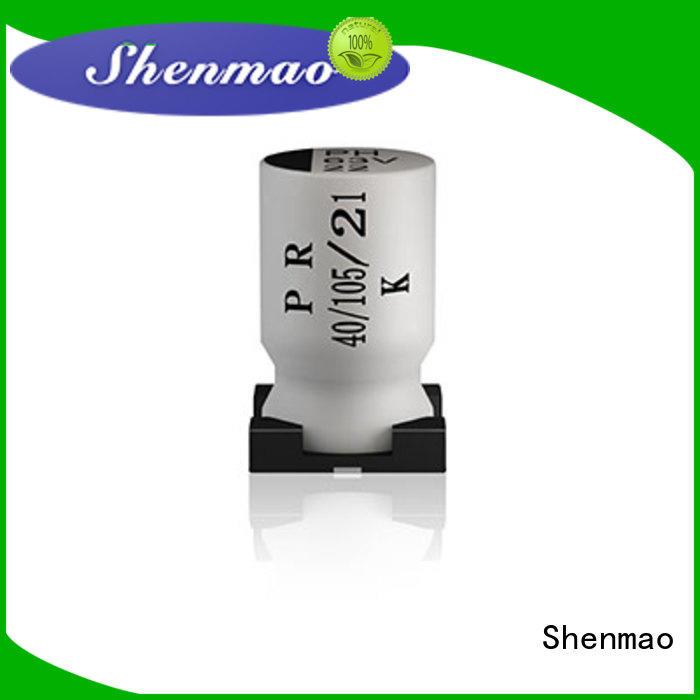 Shenmao 100uf smd capacitor marketing for energy storage