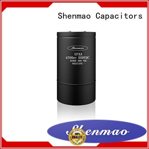 Shenmao 100uf 50v electrolytic capacitor overseas market for tuning