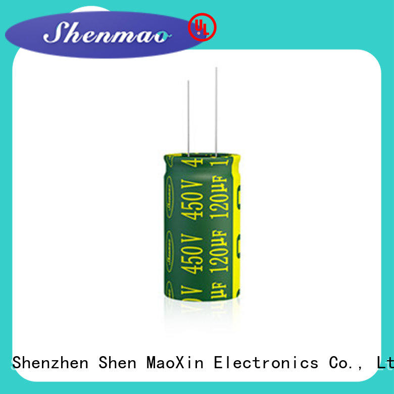 Shenmao quality-reliable 470uf 250v radial electrolytic capacitor owner for temperature compensation