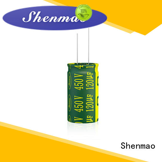 Shenmao best electrolytic capacitor manufacturers bulk production for temperature compensation