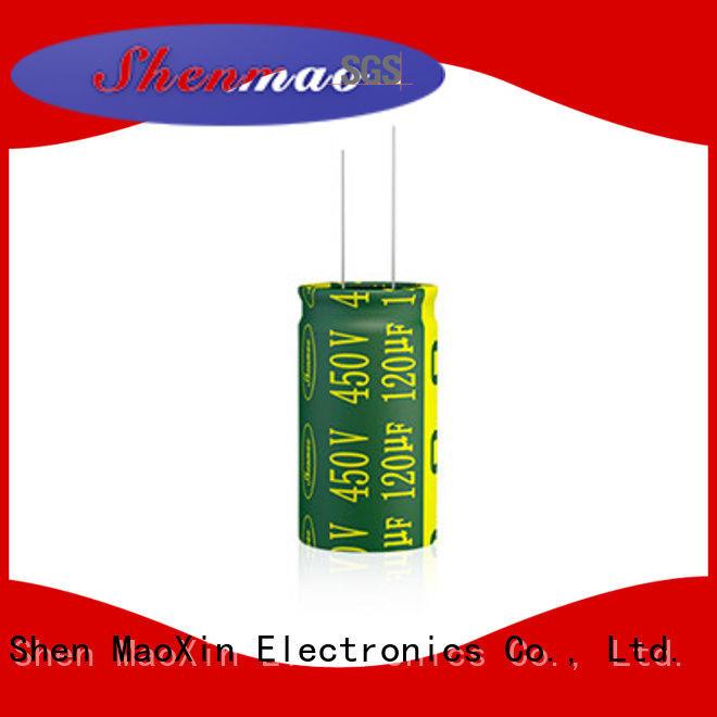 Shenmao radial capacitors vendor for filter
