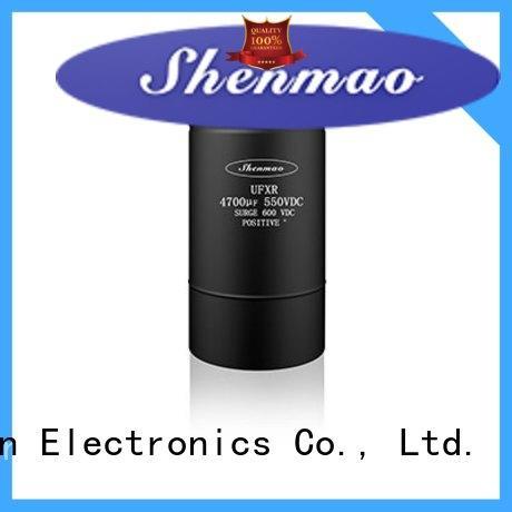 Shenmao energy-saving 10uf 16v electrolytic capacitor supplier for coupling