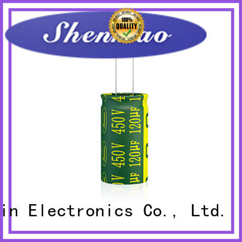 Shenmao quality-reliable radial electrolytic capacitor supplier for timing