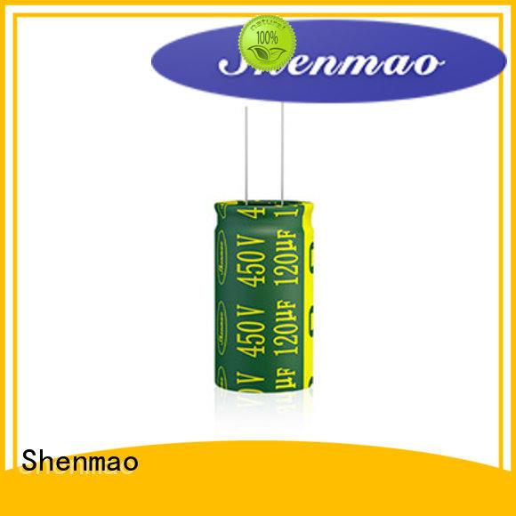 Shenmao 1000uf 450v radial electrolytic capacitors overseas market for filter