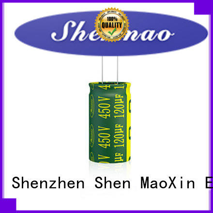 Shenmao durable types of electrolytic capacitor for temperature compensation