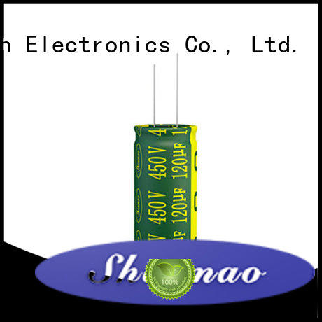 Shenmao best electrolytic capacitor manufacturers overseas market for filter