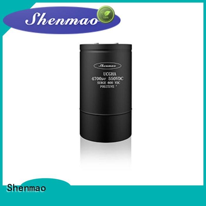 advanced technology 100uf 50v electrolytic capacitor overseas market for filter Shenmao