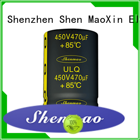 Shenmao good to use snap in capacitor socket overseas market for energy storage