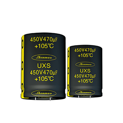 Shenmao easy to use electrolytic capacitors in series bulk production for DC blocking-1
