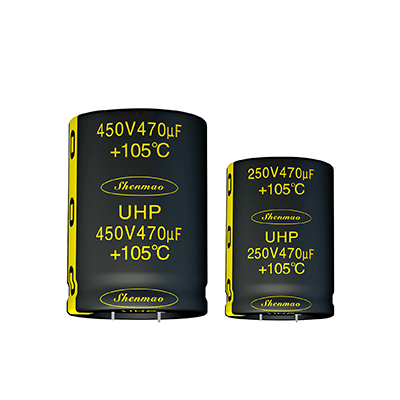Shenmao satety snap-in capacitors bulk production for DC blocking-1