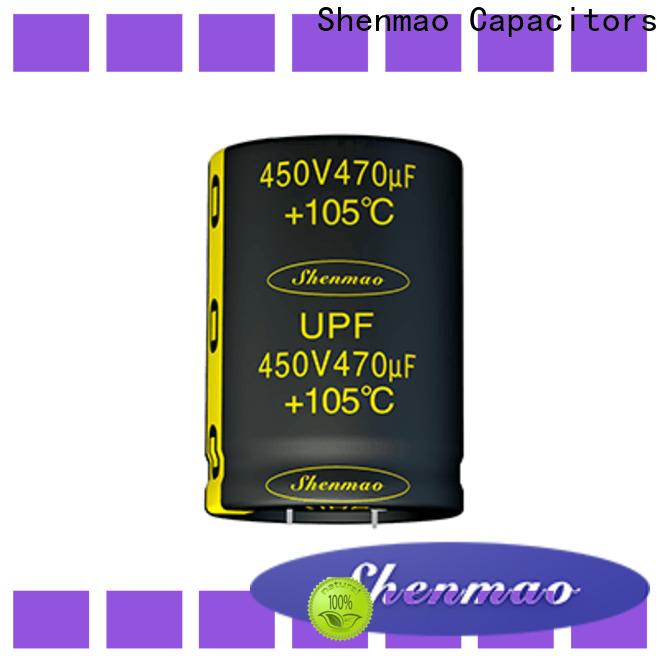 Shenmao easy to use 450 volt electrolytic capacitors owner for temperature compensation