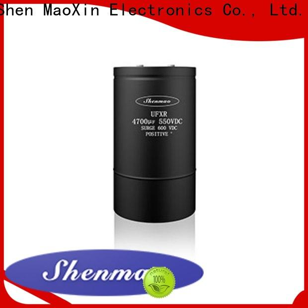 Shenmao good to use Screw Terminal Aluminum Electrolytic Capacitor owner for coupling