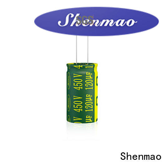 Shenmao quality-reliable 10uf 450v radial electrolytic capacitor supplier for rectification