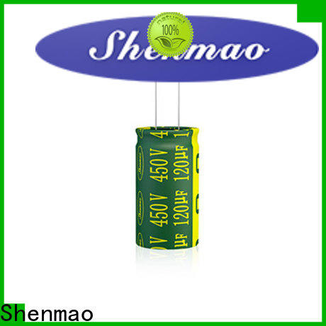 Shenmao best electrolytic capacitor manufacturers overseas market for timing