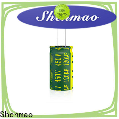 Shenmao radial can capacitor supplier for energy storage