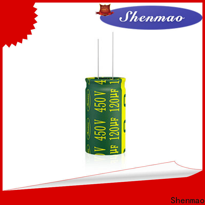 Shenmao best electrolytic capacitor manufacturers bulk production for tuning