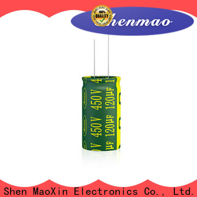 Shenmao stable 1000uf 450v radial electrolytic capacitors marketing for timing