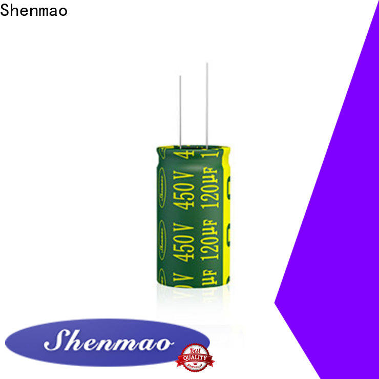 Shenmao radial type capacitor supplier for filter