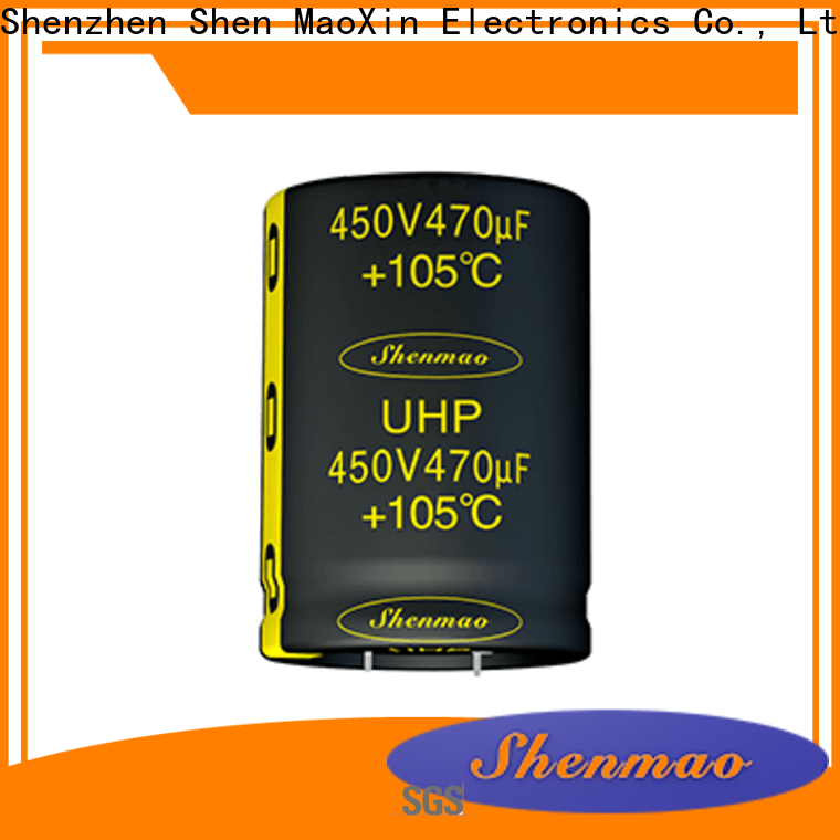 Shenmao quality-reliable 500v electrolytic capacitor marketing for DC blocking