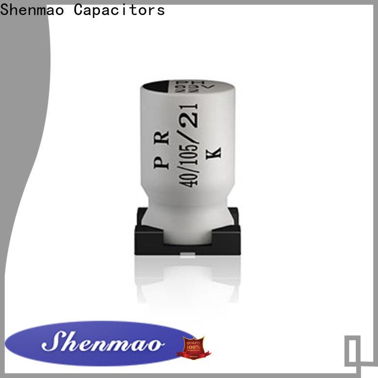 Shenmao energy-saving 220uf smd capacitor owner for DC blocking