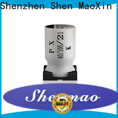 Shenmao energy-saving surface mount electrolytic capacitor bulk production for tuning