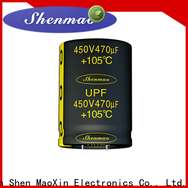 Shenmao stable snap in capacitor mount marketing for filter