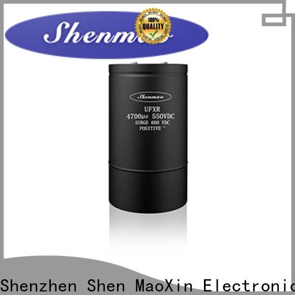 Shenmao advanced technology polymer electrolytic capacitor vendor for temperature compensation