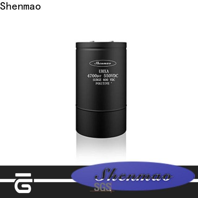 Shenmao aluminum capacitor manufacturers oem service for tuning