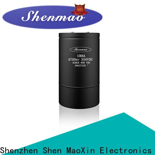 Shenmao high quality screw terminal capacitors bulk production for energy storage