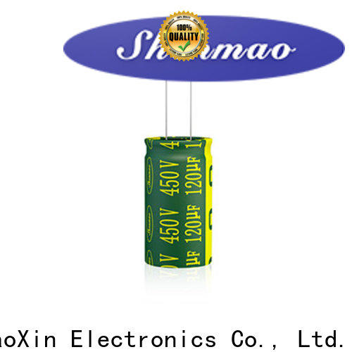 Shenmao satety radial aluminum electrolytic capacitors marketing for coupling