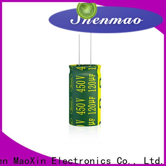 Shenmao radial type capacitor bulk production for energy storage