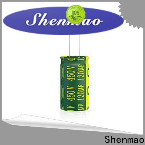 Shenmao easy to use best electrolytic capacitor manufacturers bulk production for timing