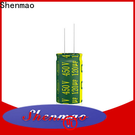 Shenmao 10uf 450v radial electrolytic capacitor vendor for energy storage