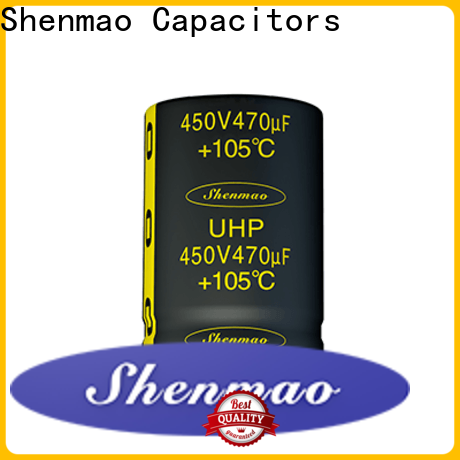 Shenmao satety 450 volt electrolytic capacitors bulk production for timing