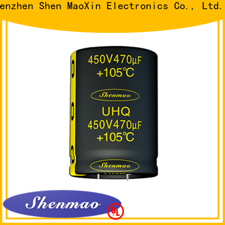 Shenmao snap in capacitor socket marketing for coupling