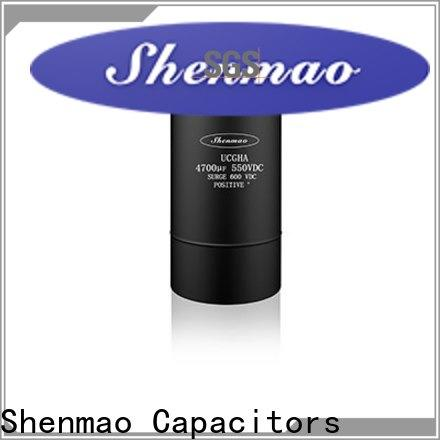 Shenmao competitive price screw type capacitor overseas market for energy storage