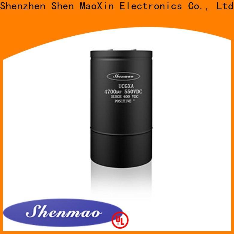 Shenmao high quality screw type capacitor vendor for temperature compensation