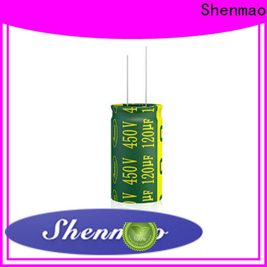 Shenmao good to use radial electrolytic capacitor supplier for filter