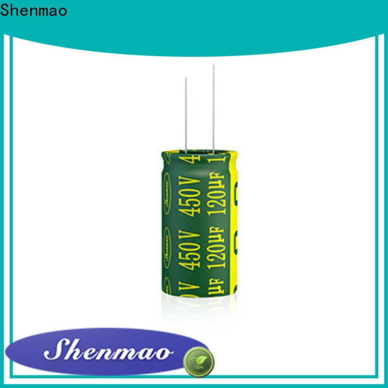 Shenmao radial type capacitor supplier for energy storage