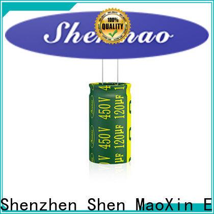Shenmao satety radial type capacitor vendor for energy storage
