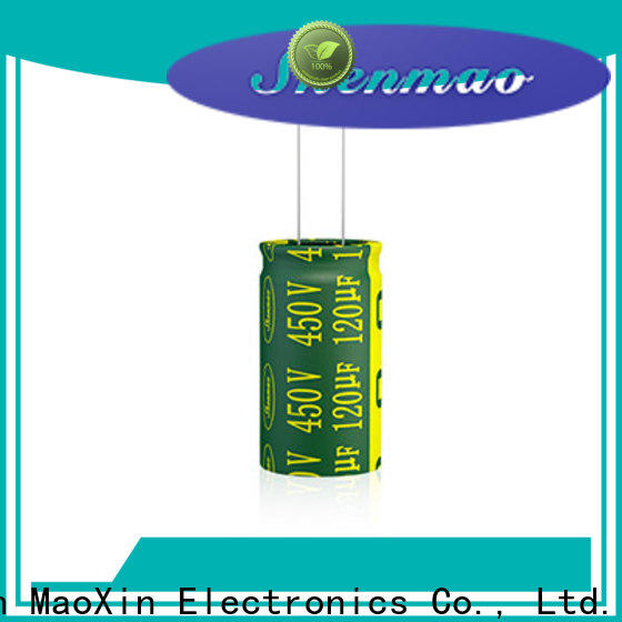 Shenmao satety radial type capacitor owner for tuning