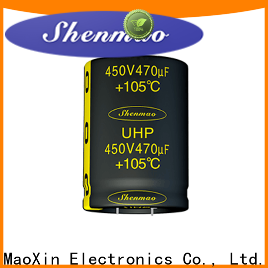 Shenmao snap in capacitor marketing for rectification