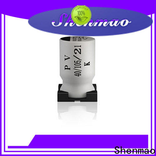 Shenmao competitive price 47uf smd capacitor owner for energy storage