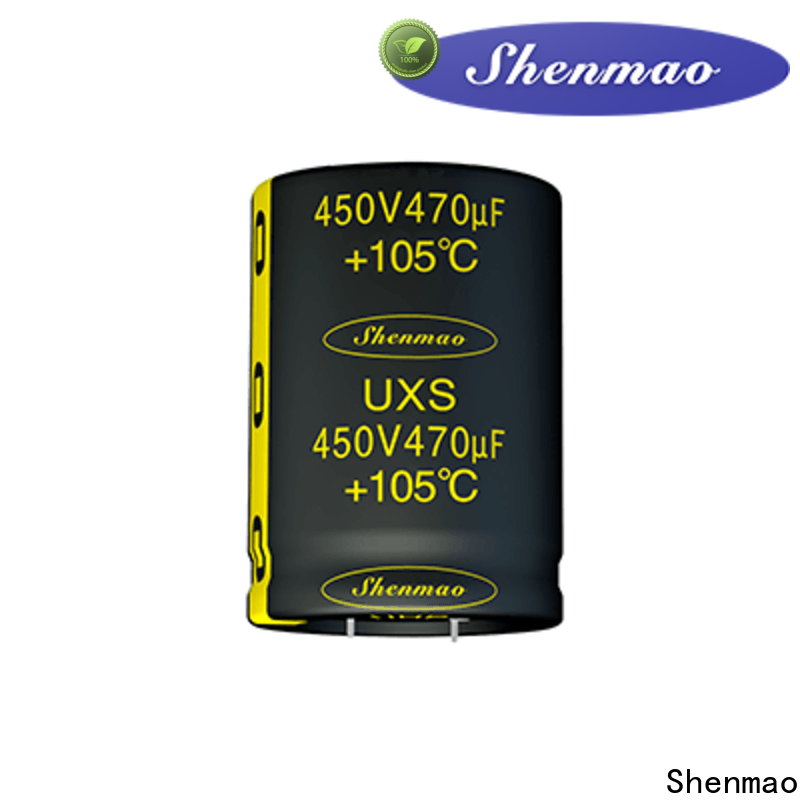 Shenmao durable snap in capacitor mount supplier for temperature compensation